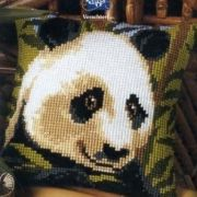 Vervaco 1200-631 Panda Cushion